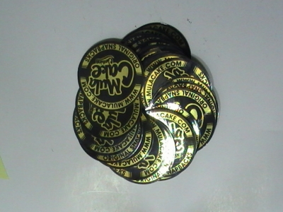 Gold Stickers