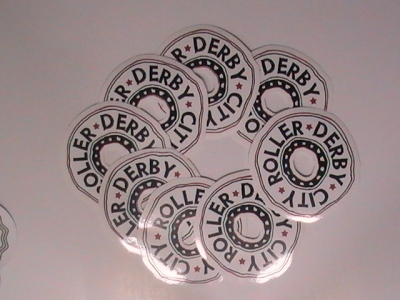 Carbon Wheel Stickers