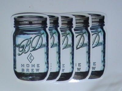 Jar Stickers