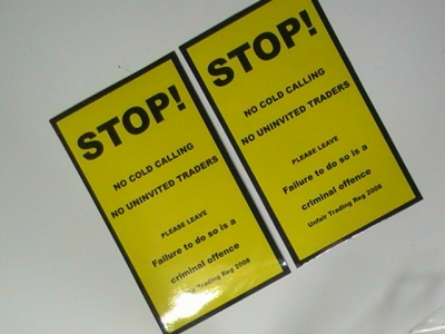 Sign Board Stickers