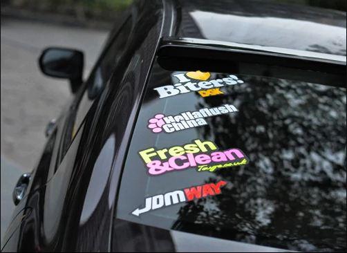 Rear Window Stickers
