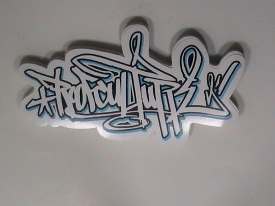 White Vinyl Stickers