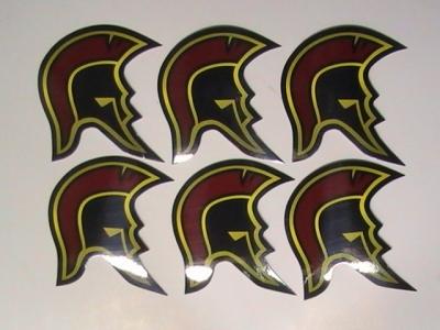 Skateboard Helmet Stickers