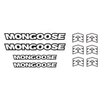 Mongoose BMX Stickers