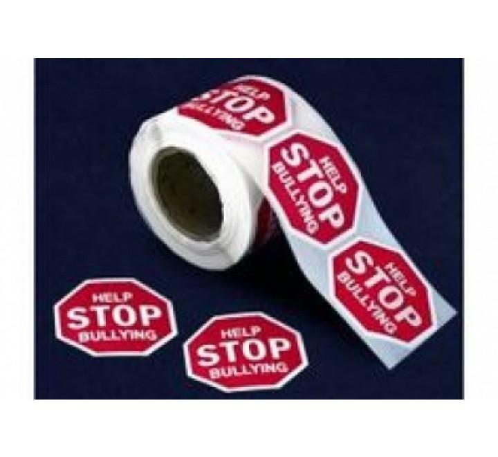 Octagon Round Stickers