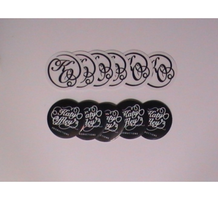 Round Clear Vinyl Sticker