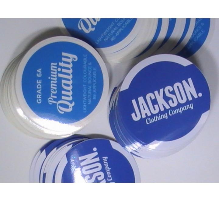 Round Car Stickers
