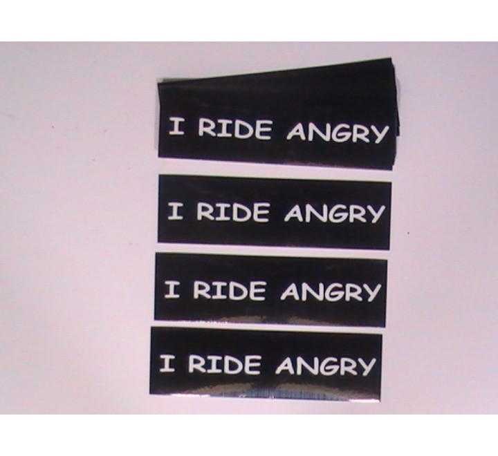 Rectangular Car Stickers