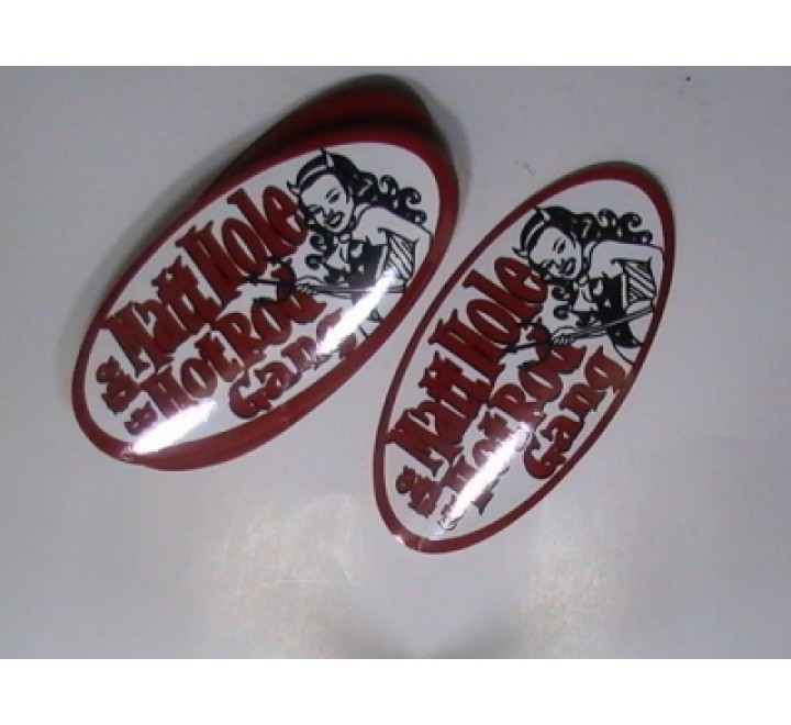 Octagon Bumper Stickers