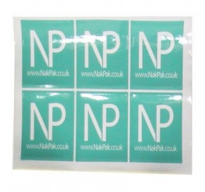 Square Paper Sticker