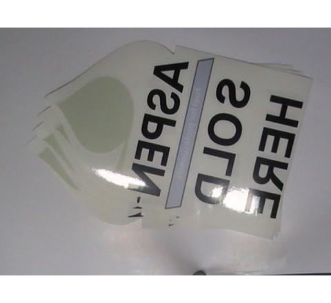 Die Cut Window Stickers