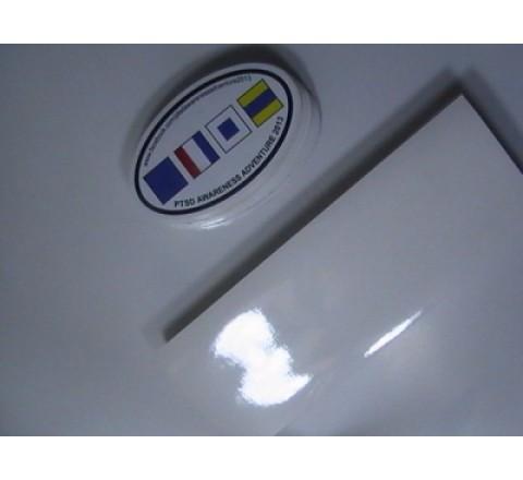 Oval Blank Stickers