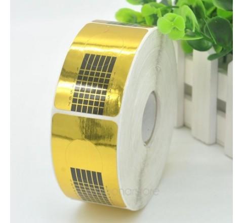 Rectangular Sticker on Roll