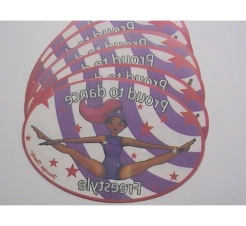 Oval Window Stickers