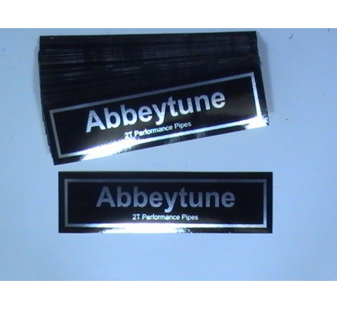 Rectangular Foil Sticker