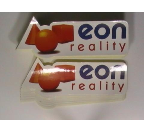 Die Cut Paper Sticker
