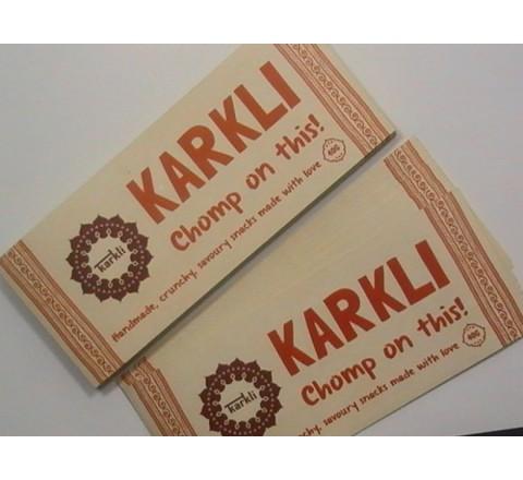 Rectangular Paper Sticker